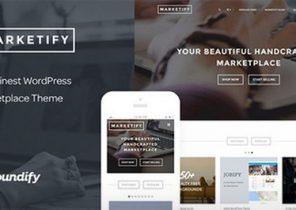 دانلود قالب فروش محصولات دیجیتال Marketify وردپرس