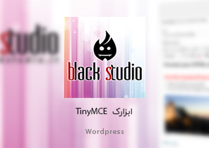 افزونه Black-Studio-TinyMCE-Widget