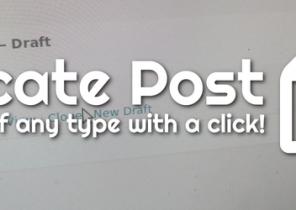 افزونه Duplicate Post | ساخت کپی نوشته های وردپرس
