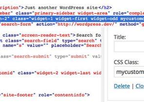 افزونه Widget CSS Classes   افزونه کاربردی وردپرس